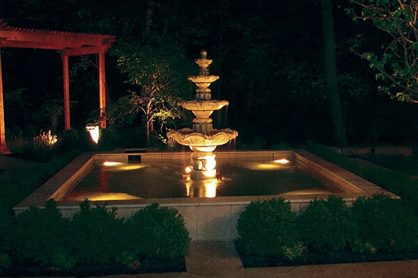 Water Features and Lighting