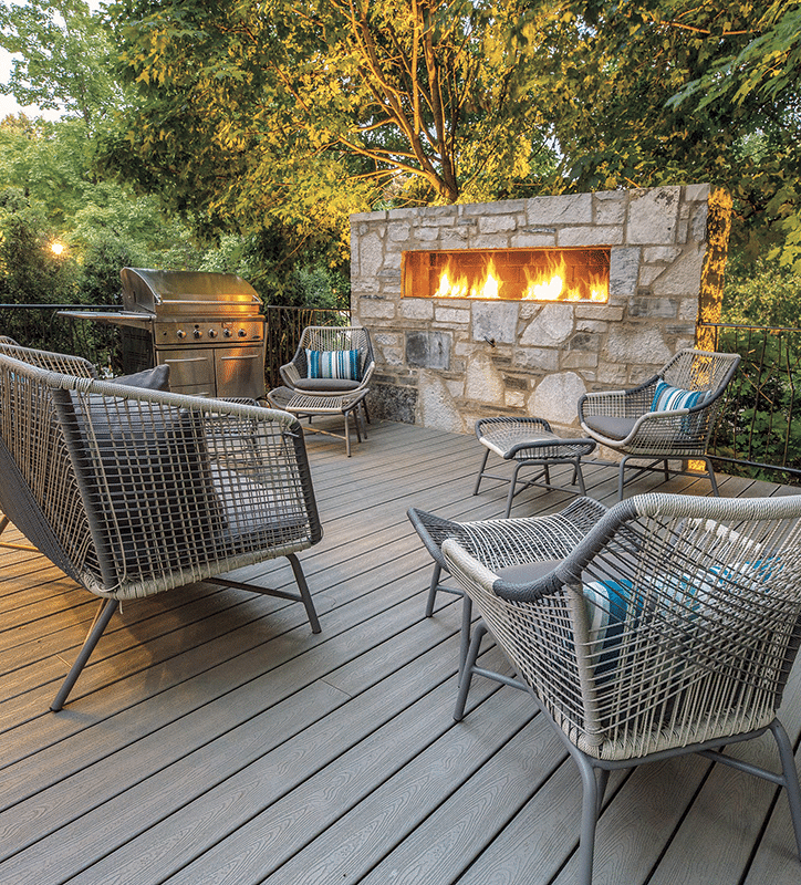 Outdoor Kitchens & Fireplaces - Bertrand Landscape