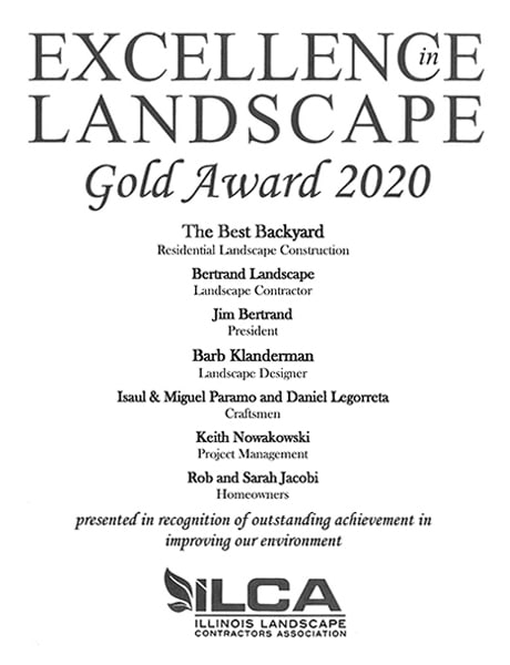 Image Excellence in Landscape Award