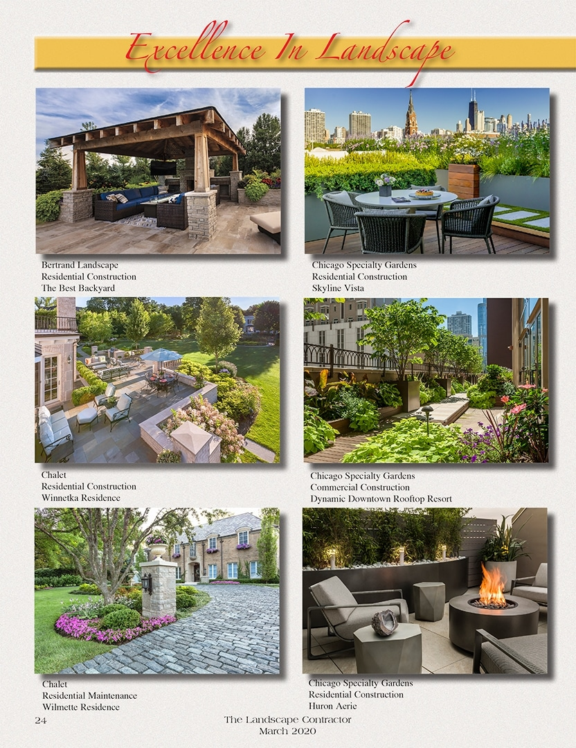 Excellence In Landscape
